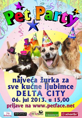 Pet Party poster